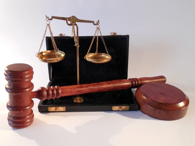 gavel and scales for judical website